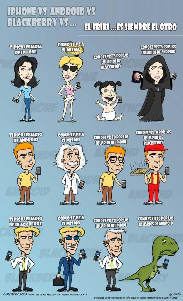 hone-vs-Android-vs-Blackberry--SPANISH-El-friki-es-siempre-el-otro
