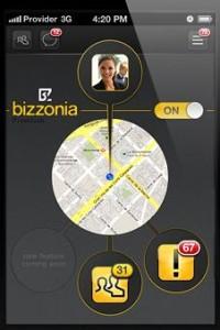 Como vemos Bizzonia en el Iphone (en breve en Android)