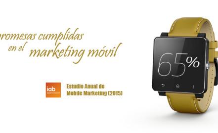 Promesas cumplidas en el marketing móvil: Estudio Anual de Mobile Marketing (2015)