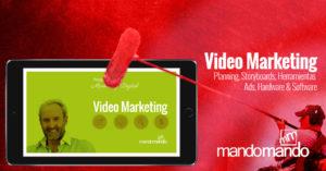 Video Marketing para el profesional, comercio, pequeña empresa, social media management y digital marketing
