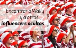 Encontrar a Wally y a otros influencers ocultos