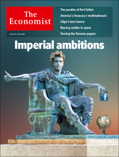 The Economist Mark ZUckerberg Imperial Ambitious facebook