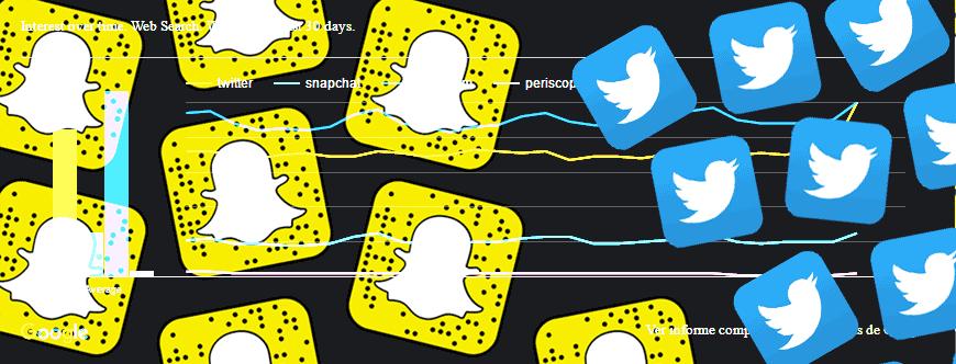 Snapchat-versus-Twitter