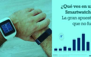 ¿Qué ves en un Smartwatch? La gran apuesta que no fue