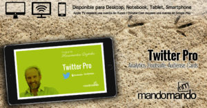 Curso online sobre gestión profesional de Twitter