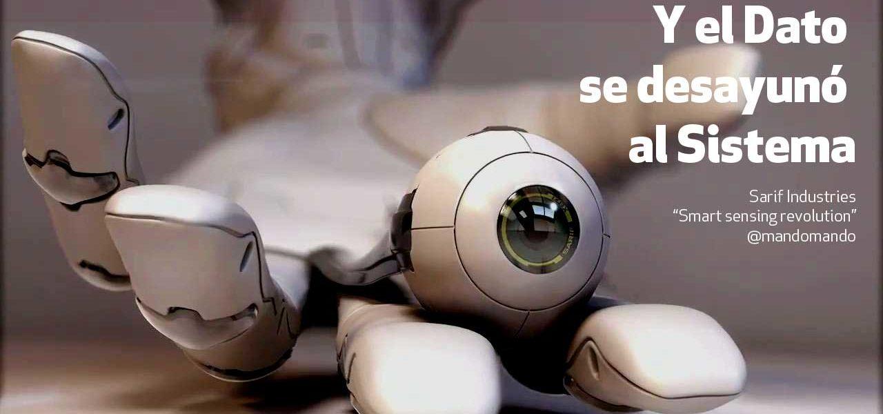 Y el Dato se desayunó al Sistema: la transformación digital que nace en los sensores y los algoritmos