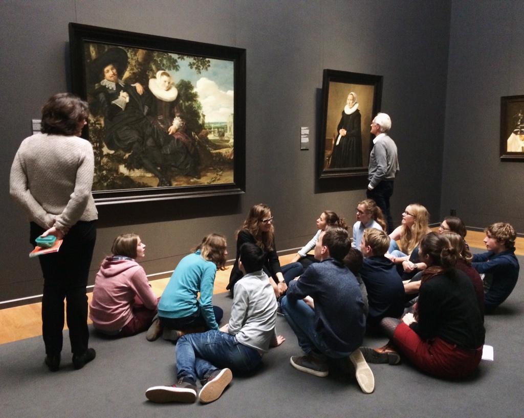 Rijksmuseum Chicos smartphone nomofobia mandomando