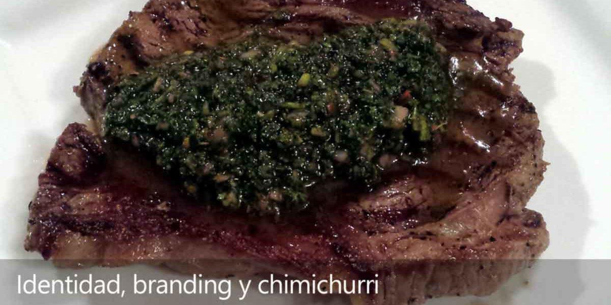 Identidad, branding y chimichurri