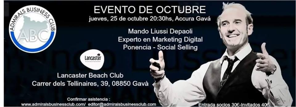 ABC Admirals Business Club October Event Mandomando Social Selling